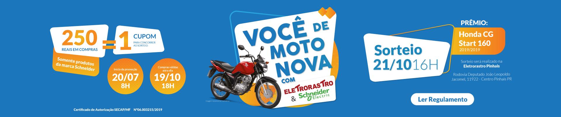 Sorteio Moto