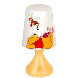 Abajur LED Pooh Amarelo 0,5W Luz Branco Frio Startec