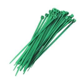 Abraçadeira de Nylon Verde 2,5x100mm G20