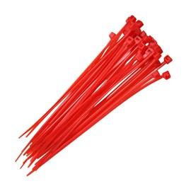 Abraçadeira de Nylon Vermelha 2,5x100mm G20