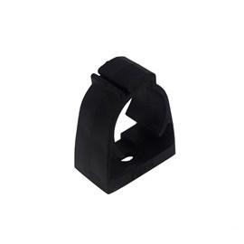 """Abraçadeira Preta 1/2"""" para Eletroduto de PVC Inpol"""