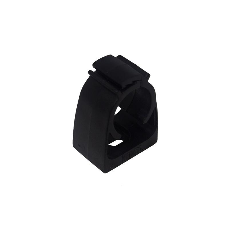 """Abraçadeira Preta 3/4"""" para Eletroduto de PVC Inpol"""