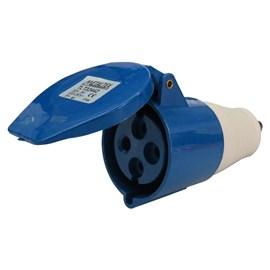 Acoplamento Blindado 3P+T 32A 250V Azul Metaltex