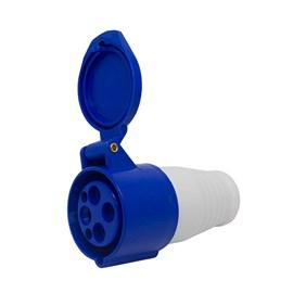 Acoplamento Blindado 3P+T 9H 16A 250V Azul Eletrorastro