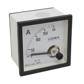 Amperímetro Analógico 150/5A 72X72MM LK-A72 para TC 17002 150/5 Lukma