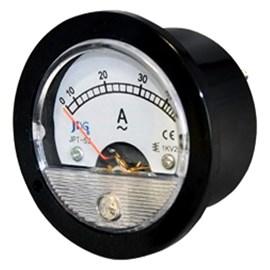 Amperímetro Analógico Medição Direta 50A 65,4mm Redondo JNG