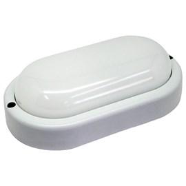 Arandela Externa LED Tartaruga Branco 8W Luz Branco Frio Bivolt Empalux