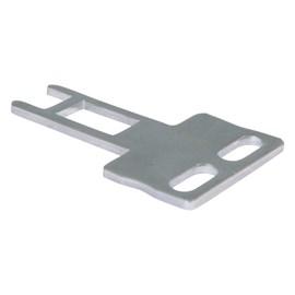 Atuador Reto para Chave de Segurança FS93-C1 Metaltex