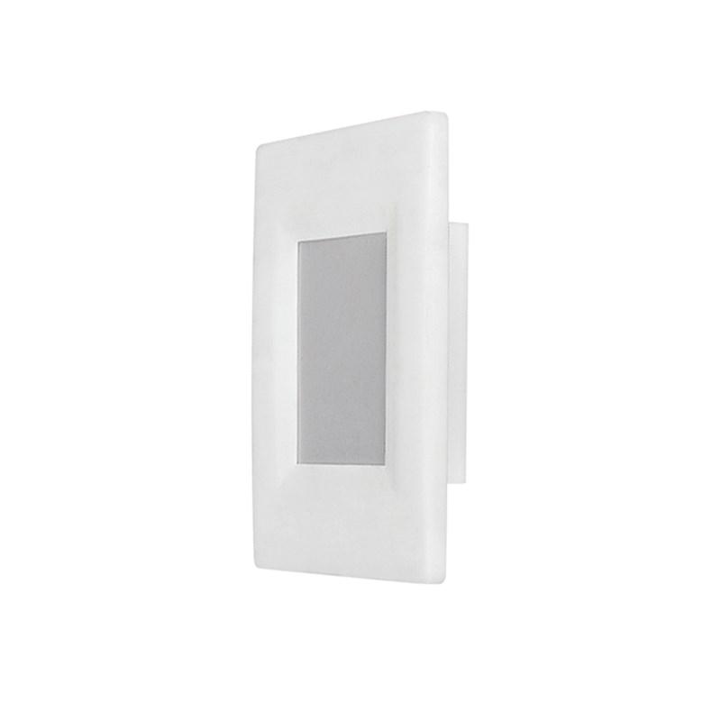 Balizador LED Elegance Branco 2W Luz Branca Bivolt Avant
