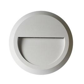 Balizador LED Fit Moon Redondo Luz Branca 5W Branco Bivolt Startec