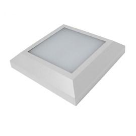 Balizador LED Fit Rai Quadrado Luz Branca 5W Branco Bivolt Startec