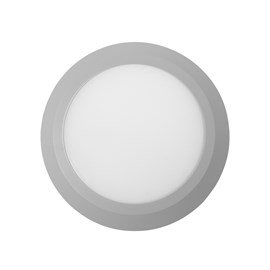 Balizador LED Fit Rua Redondo Luz Amarela 5W Branco Bivolt Startec