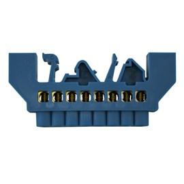Barramento Neutro 8 Furos Base Azul JNG