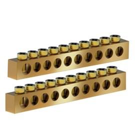 Barramento Neutro/Terra 10 Disjuntores com 2 Unidades Tigre