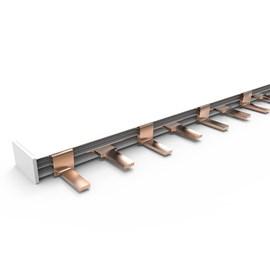 Barramento Pino 100cm 57P 80A Bifásico Schneider