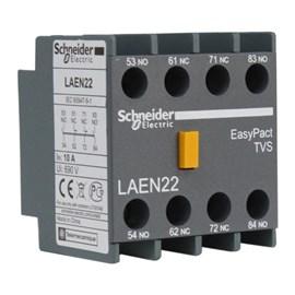 Bloco de Contato Auxiliar Frontal LAEN22 2NA+2NF Schneider