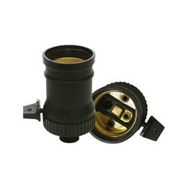 Bocal Adaptador E27 com Chave Decorlux