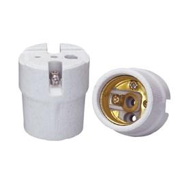 Bocal Adaptador E27 Porcelana para Plafon Decorlux