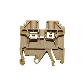 Borne SAK MTB 2,5EN 2,5mm 26A Bege Metaltex