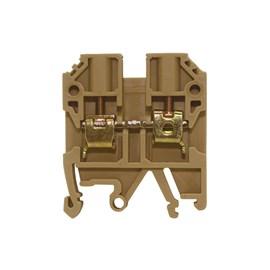 Borne SAK MTB 4EN 4mm 34A Bege Metaltex