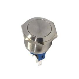 Botão Antivandalismo 22mm 1NA + 1NF AV22FC Momentâneo Metaltex