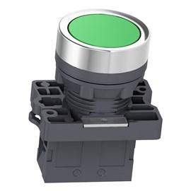Botão de Impulsão 22mm 1NA XA2EA31 Verde Schneider