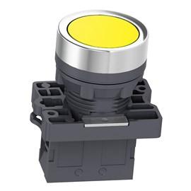 Botão de Impulsão 22mm 1NA XA2EA51 Amarelo Schneider