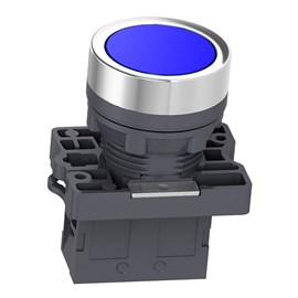 Botão de Impulsão 22mm 1NA XA2EA61 Azul Schneider