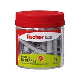 Bucha PP Pote Ux10mm com 35 Fischer