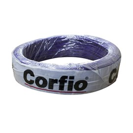 Cabo Flexível 0,5mm 100m Lilás 750V Corfio/Cobrecom/PW