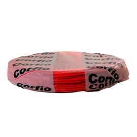 Cabo Flexível 0,5mm 100m Vermelho 750V Corfio/Cobrecom