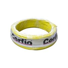 Cabo Flexível 0,75mm 100m Amarelo 750V Corfio/Cobrecom
