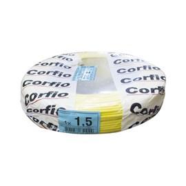 Cabo Flexível 1,50mm 100m Amarelo 750V Corfio/Cobrecom