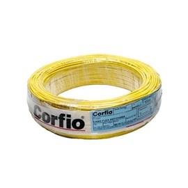 Cabo Flexível 2,50mm 100M Amarelo 750V Corfio/Cobrecom