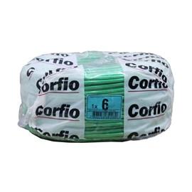 Cabo Flexível 6,00mm 100m Verde 750V Corfio/Cobrecom