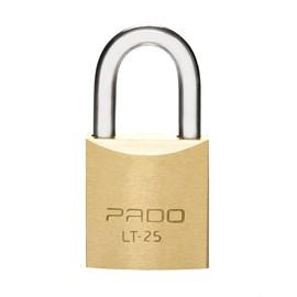 Cadeado com chave Latão 25mm Dourado Pado