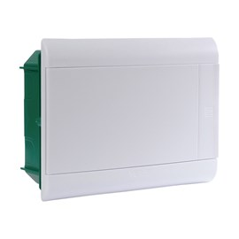 Caixa de Distribuição Embutir 12DIN PVC sem Barramento IP-40 Schneider