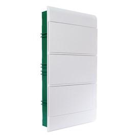 Caixa de Distribuição Embutir 36DIN PVC sem Barramento IP-40 Schneider