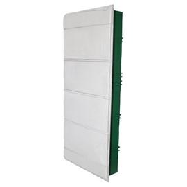 Caixa de Distribuição Embutir 48DIN PVC sem Barramento IP-40 Schneider