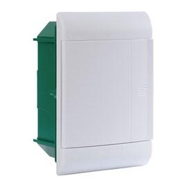 Caixa de Distribuição Embutir 5DIN PVC sem Barramento IP-40 Schneider
