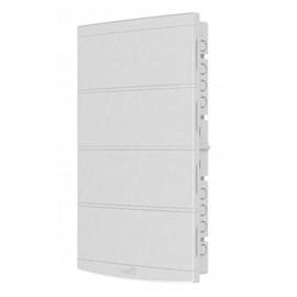 Caixa de Distribuição Embutir 64DIN PVC sem Barramento IP-40 Tigre
