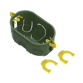 Caixa de Luz 4X2 Retangular Verde para Dry Wall Tigre