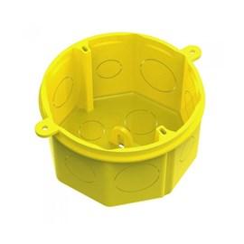 Caixa de Luz 4X4 Octagonal Amarela Tigre