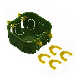 Caixa de Luz 4X4 Quadrada Verde para Dry Wall Tigre