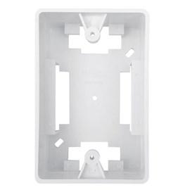 Caixa de Luz de Sobrepor 4x2 Retangular Branca Ilumi