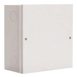 Caixa de Passagem Sobrepor 120x120mm Cinza Metal IP-44 Gomes