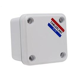 Caixa de Passagem Sobrepor 98x98mm Branca Termoplástico IP-65 Tableplast