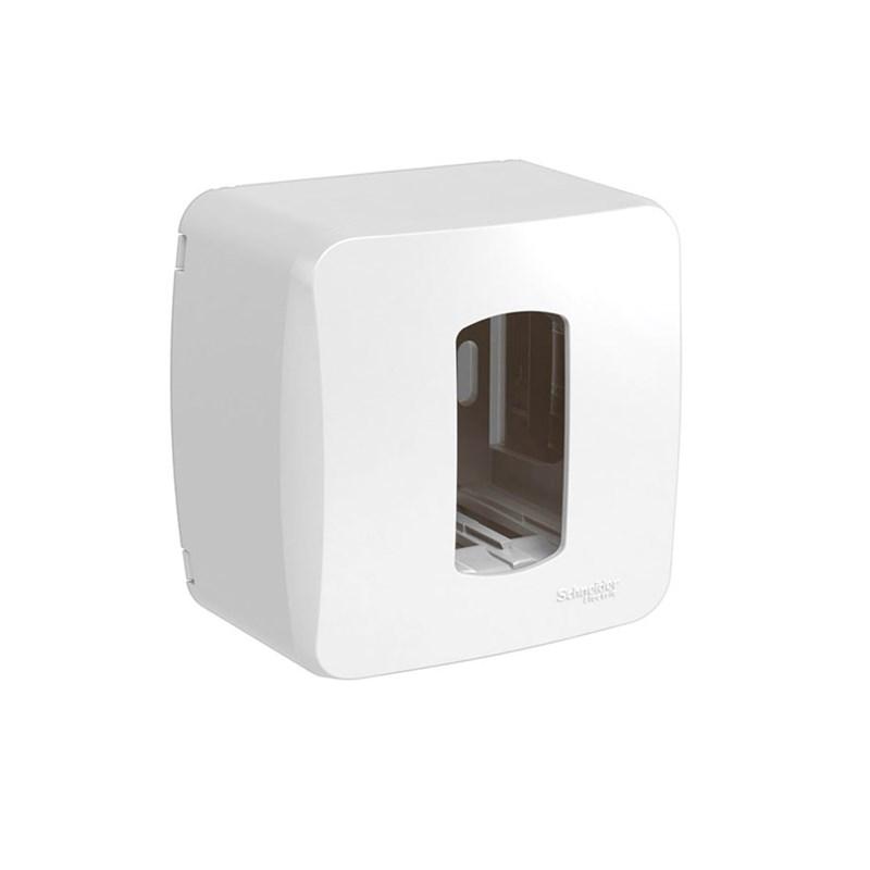 Caixa de Sobrepor Miluz 1 Módulo Branca Schneider