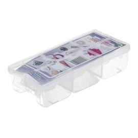 Caixa Organizadora 6 Divisórias Plástico Transparente São Bernardo