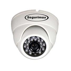 Câmera de monitoramento Dome multifunção 4 em 1 HD Segurimax